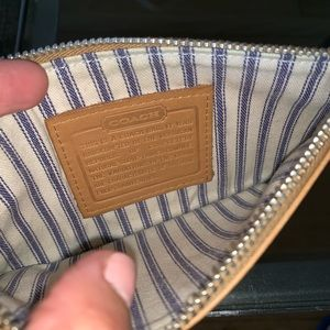 Coach wallet, bag
